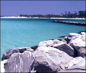 Panama City Beach Jetties